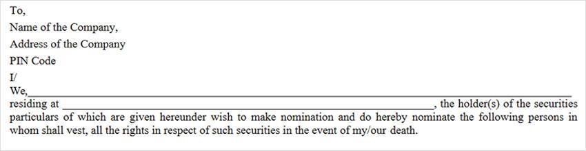 SH-13 Nomination Application Form