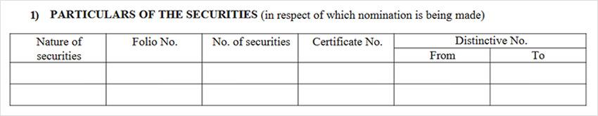 SH-13 - Nomination Form Step 1
