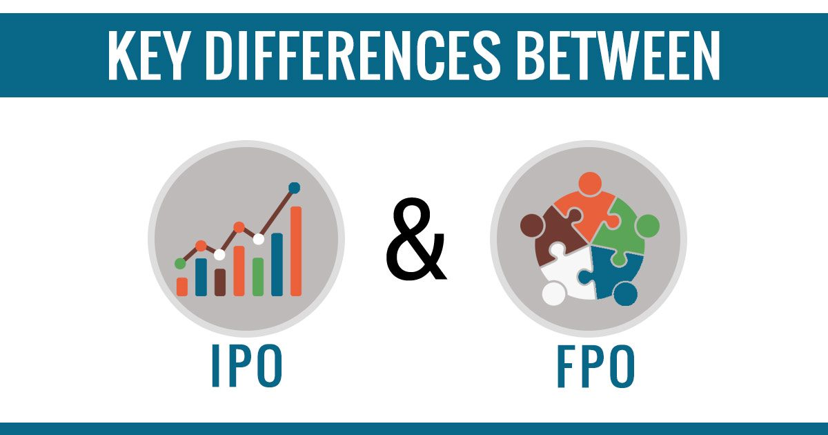 IPO & FPO Differences