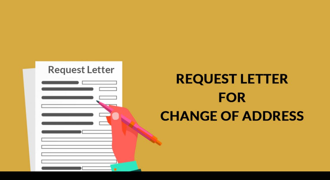 Request Letter for Change of Address