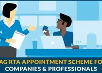 SAG RTA Appointment Scheme For Companies & Professionals