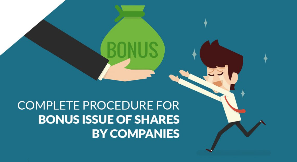Complete Procedure for Bonus Issue of Shares by Companies