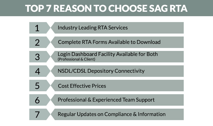 Top 7 Reason To Choose SAG RTA