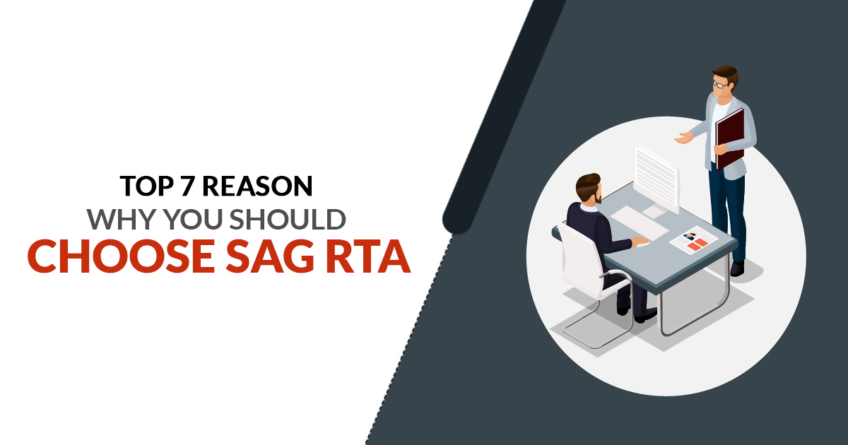 Top 7 Reason Why You Should Choose SAG RTA