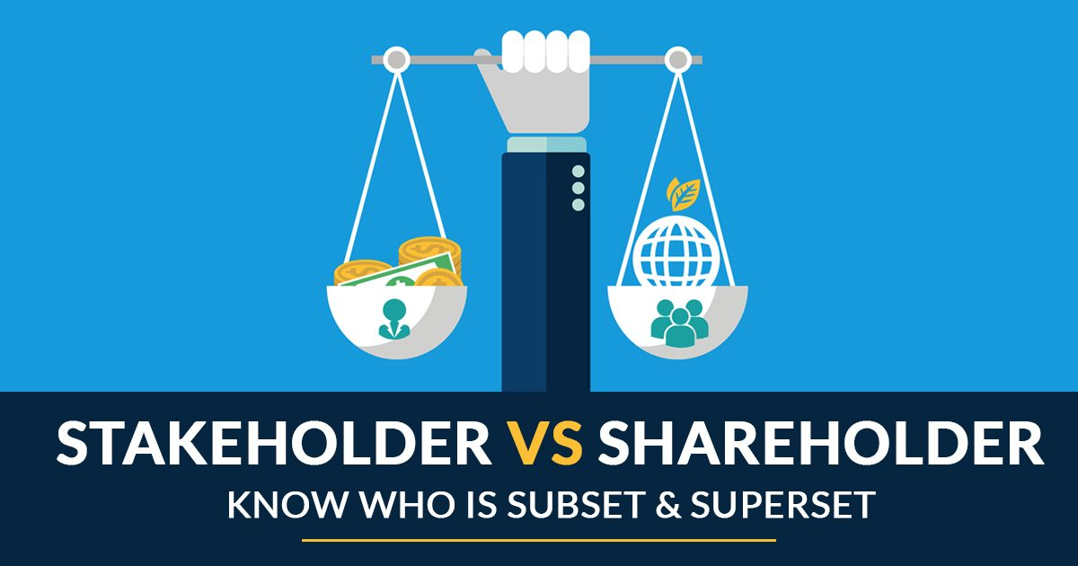 Difference Stakholder Shareholder