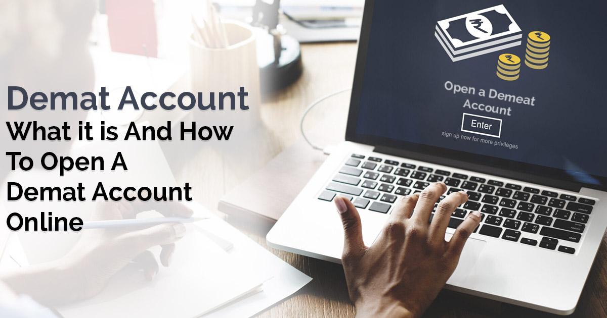 Open A Demat Account Online