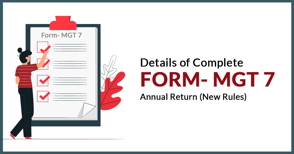 Details of Complete Form MGT 7